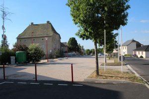 Centre-bourg de Faverolles