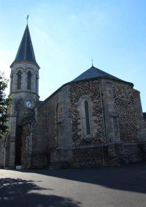Eglise du bourg de Faverolles
