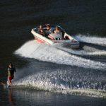 Lac de garabit ski nautique