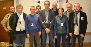 Maire et Adjoints de Val d'Arcomie