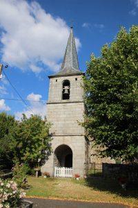 Eglise de Bournoncles à Loubaresse
