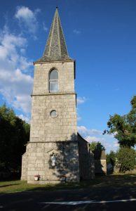 Eglise de la bessaire de Lair à Loubaresse